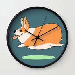 Corgi Bean Wall Clock