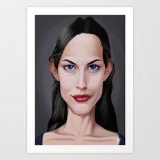Celebrity Sunday ~ Liv Tyler Art Print