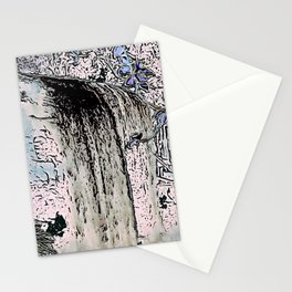 "series waterfall ""Cachoeira Grande"" I Stationery Cards"