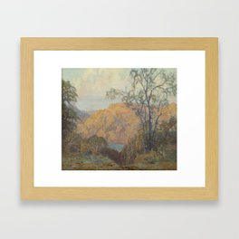 Carl Larsson Apple Orchard, De Framed Art Print