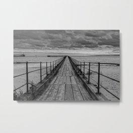 The Pier. Metal Print