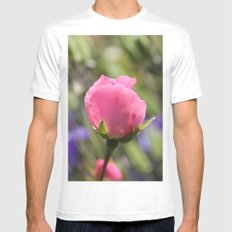 Sweet Rose Mens Fitted Tee White MEDIUM