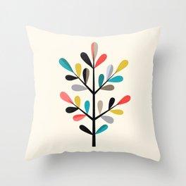 Modern Branch Throw Pillow