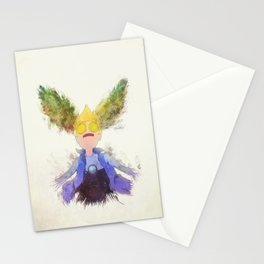 One with his Emotions Stationery Cards