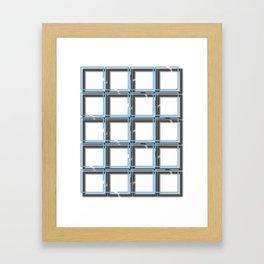 Broken Logic Framed Art Print
