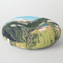 Lake reflections Floor Pillow