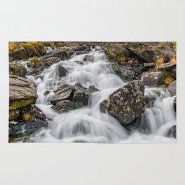 Cwm Idwal River Snowdonia Rug