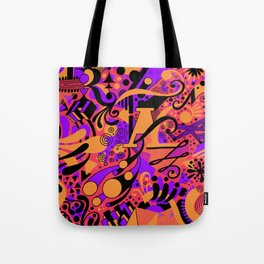 Microscopic emotions Tote Bag