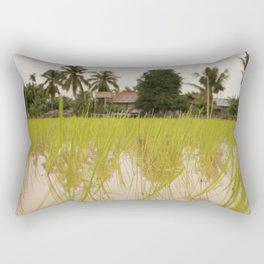 In the Paddies Rectangular Pillow