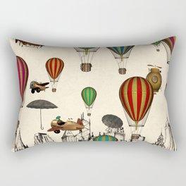 Vintage Old City Rectangular Pillow