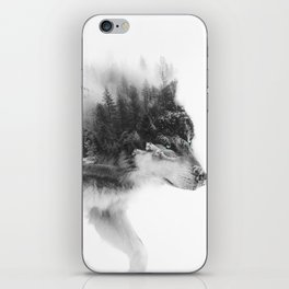 Wolf Stalking iPhone Skin