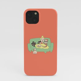Watching Breaking Bad iPhone Case