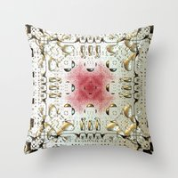 egyptian Throw Pillows featuring Egyptian Style by Lynn Bolt