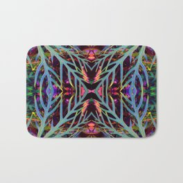 Found Colors Pattern Bath Mat
