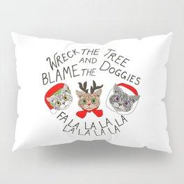 Festive Cats Pillow Sham