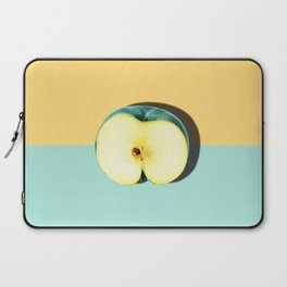 Tropical Fruit. Apple Half Slice Laptop Sleeve
