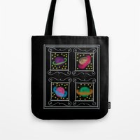 planets Tote Bags featuring Planets by Art Stuff