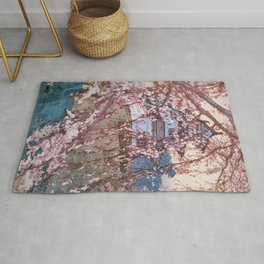 Cherry Blossoms 8scenes, Hirosaki Castle - Digital Remastered Edition Rug