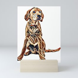 I love dogs Mini Art Print