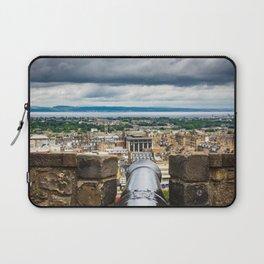 View from Edinburgh Castle, Scotland Laptop Sleeve