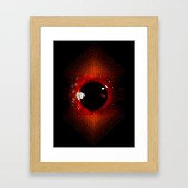 InfraRED Framed Art Print