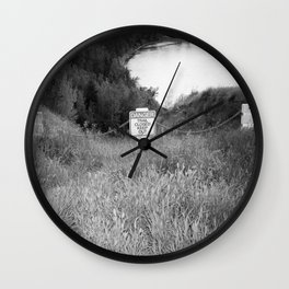 StAY oUt Wall Clock