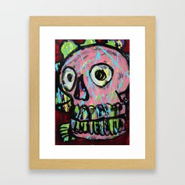 King Skull 2 Framed Art Print