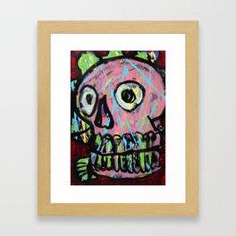 King Skull 2 Framed Art Print