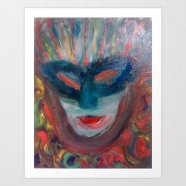 Masquerade Ball Art Print
