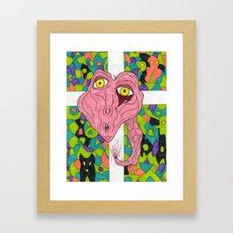 The Last Christbiter Framed Art Print