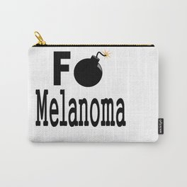 F Bomb Melanoma Carry-All Pouch