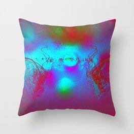 Effervescent Sheen Throw Pillow