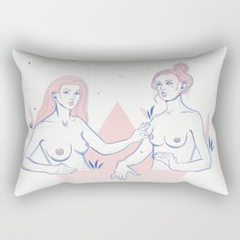 Girls & Nipples Rectangular Pillow