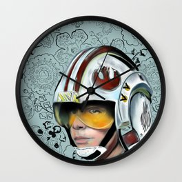 Luke Skywalker from Starwars Wall Clock