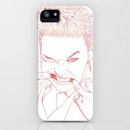 G-DRAGON LINE ART iPhone Case