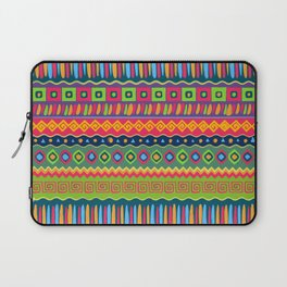 African abstract geometric pattern Laptop Sleeve