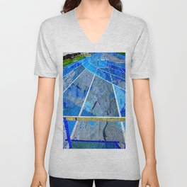 Track And Field Art Unisex V-Neck