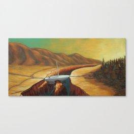 The Unforseen Passage Canvas Print
