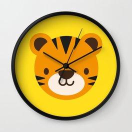 Tilly the Tiger Wall Clock
