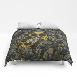 The Golden Hive Comforters