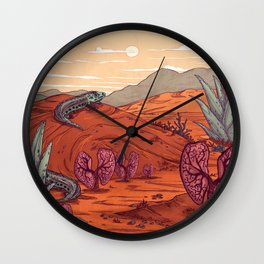 lung and cold-blooded Wall Clock