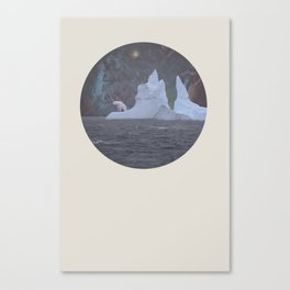 The Lonely Polarcorn Canvas Print