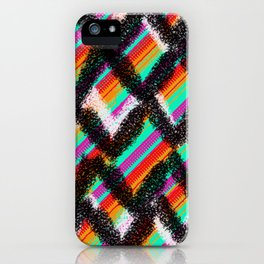 ondulation colorée 4 iPhone Case