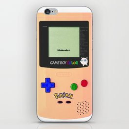 GAMEBOY JIGGLYPUFF EDITION iPhone Skin