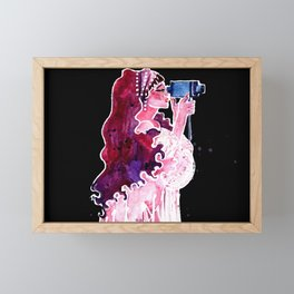 The Director Framed Mini Art Print