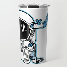 Coffee fueled astronaut Travel Mug
