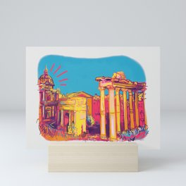 Afternoon in Rome Mini Art Print