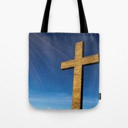 Heaven's Cross Tote Bag