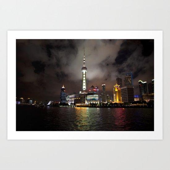 Shanghai Pearl Art Print
