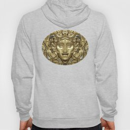 """Ancient Golden and Silver Medusa Myth"" Hoody"